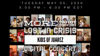 Digital concert event banner